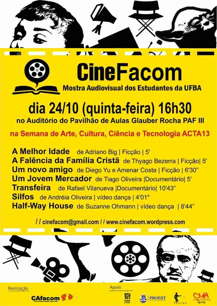 Cartaz CineFacom ACTA